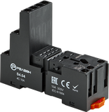 S4.04 - Розетка для реле RP4.34 и модуля PM8; 10А